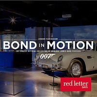 Red Letter Days Bond Exhibition & Meal For Two