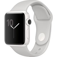Apple Watch Edition 38mm White Ceramic Case with Sport Band, Cloud