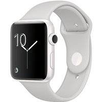 Apple Watch Edition, 42mm White Ceramic Case with Sport Band, Cloud