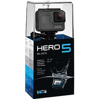 GoPro HERO5 Black Edition Camcorder, 4K Ultra HD, 12MP, Wi-Fi, Waterproof, GPS