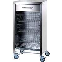 Hahn Stainless Steel Cook Butcher's Trolley