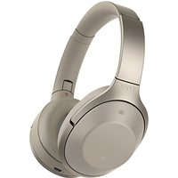 Sony MDR-1000X Noise Cancelling Wireless Bluetooth NFC High Resolution Audio Over-Ear Headphones with Mic/Remote