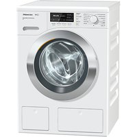 Miele WKH122WPS Freestanding Washing Machine, 9kg Load, A+++ Energy Rating, 1600rpm Spin, White