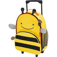 Skip Hop Zoo Rolling Luggage, Bee