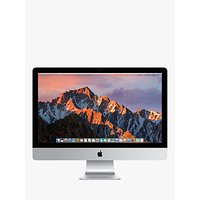 2017 Apple iMac 27 Retina 5K Display, Intel Core i5, 8GB RAM, 2TB Fusion Drive, Radeon Pro 580, Silver