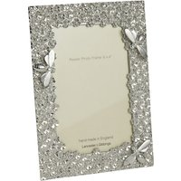 Lancaster and Gibbings Bee Photo Frame, 6 x 4, Pewter
