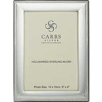 Carrs Berkeley Bead Frame, 6 x 4, Sterling Silver