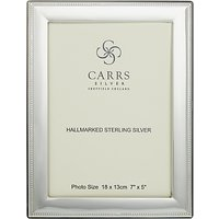 Carrs Berkeley Bead Frame, 7 x 5, Sterling Silver