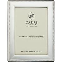 Carrs Berkeley Bead Frame, 5 x 3.5, Sterling Silver