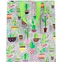 Paper Salad Cactus Gift Bag, Large