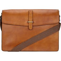 John Lewis and Partners Made in Italy Leather Messenger Bag
