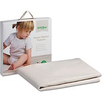 The Little Green Sheep Waterproof Cotbed Mattress Protector