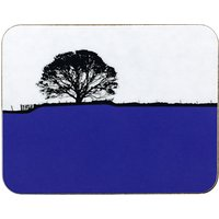 The Art Rooms Grassington Coaster, Blue
