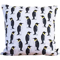 Martha and Hepsie Penguin Cushion, Multi