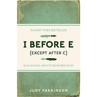 I Before E (Except After C) Book