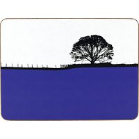 The Art Rooms Dales Grassington Tablemat, Blue
