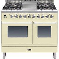 ILVE PDW100FE3 Roma Dual Fuel Freestanding Range Cooker