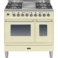 ILVE PDW90FE3 Roma Dual Fuel Freestanding Range Cooker
