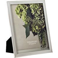 Vera Wang For Wedgwood With Love Photo Frame, 8x10, Silver