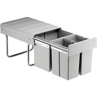 Wesco Triple Pull-Out Kitchen Bin, 40L