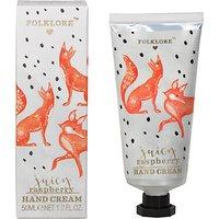 Folklore Raspberry Fox Hand Cream