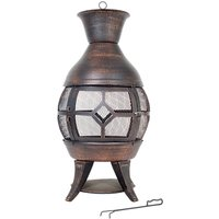 La Hacienda Sherington Cast Iron Chiminea