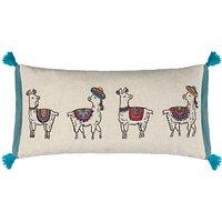 John Lewis Party Llamas Cushion