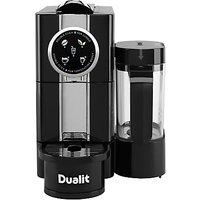 Dualit 85180 Cafe Cino Coffee Capsule Machine, Black