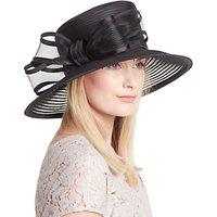 John Lewis Anna Braid Bow Occasion Hat, Black
