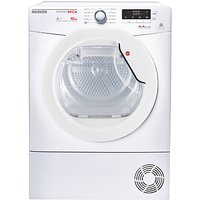 Hoover Dynamic Mega DMHD1013A2 Freestanding Heat Pump Tumble Dryer, 10kg Load, A++ Energy Rating, White