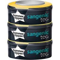 Tommee Tippee Baby Disposable Nappy Casette Refills, Pack of 3