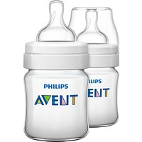 Philips Avent Classic Baby Bottle, Pack of 2, 125ml