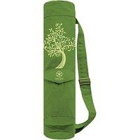 Gaiam Tree of Wisdom Canvas Mat Bag, Green