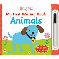 My First Writing Book Animals Childrens Book