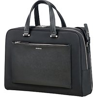 Samonsite W Zalia Bailhandle 15.6 Laptop Briefcase, Black