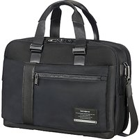 Samsonite Openroad Bailhandle Expandable 15.6inch Laptop Briefcase, Jet Black