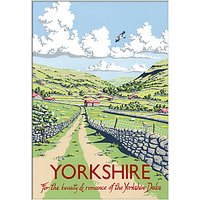 Kelly Hall - Yorkshire Unframed Print with Mount, 30 x 40cm