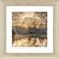 Assaf Frank - Autumn Walk II Framed Print, 70 x 70cm