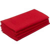 John Lewis Kernel Napkin, Set of 4, Red