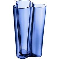 Iittala Aalto Vase, H25.1cm, Blue