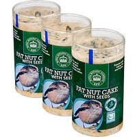 CJ Wildlife Fat Nutcake With Seeds, Pack of 3