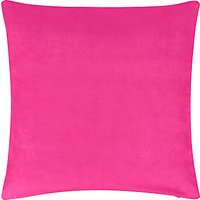 John Lewis Plain Velvet Cushion