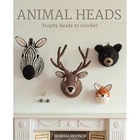 GMC Publications Crochet Animal Heads Book by Vanessa Mooncie
