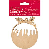 Docrafts Make Your Own Christmas Pudding Kit, Brown
