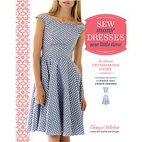 Crown Publishing Sew Many Dresses Sew Little Time Book by Tanya Whelan