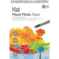 West Designs A4 Mixed Media Paper Sheets, Pack of 30