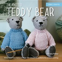 Pavillion Books The Knitted Teddy Bear Book by Sandra Polley