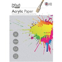 West Designs A4 Acrylic Paper Sheets, Pack of 15