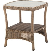 KETTLER RHS Harlow Garden Side Table, Natural