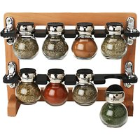 Olde Thompson Spice Rack, 8 Jar